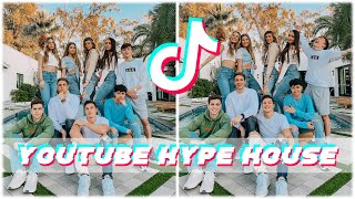 the Youtuber Couples Retreat 2020 | Youtube Hype House TikTok Compilation | Jatie Vlogs | Jack & Gab