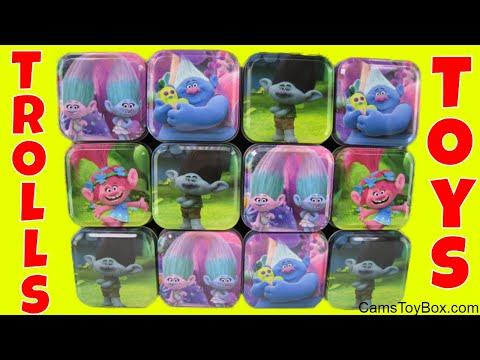 Dreamworks Trolls Surprise Toys Blind Bags Series 7 Chupa Chups Eggs Fashion Tags Opening