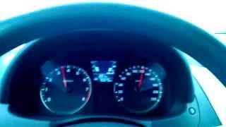 Hyundai Solaris. Разгон до 205 км ч