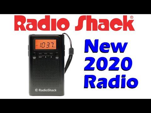 The Shack is back! New 2020 Radio Shack AM/FM pocket radio