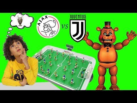 AJAX vs JUVENTUS *football table champions* | Ajax Juve 1 1