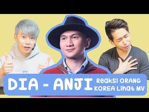 REAKSI Orang Korea Lihat Video Musik ANJI DIAㅣDIA ANJIㅣINDONESIAN SONG REACTION