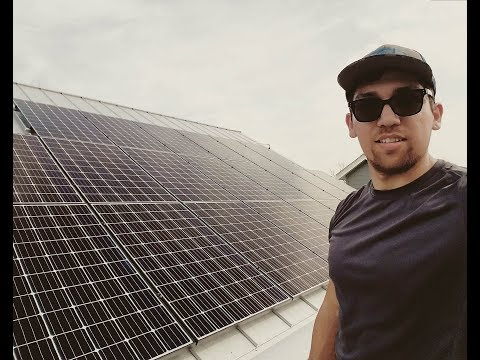 Solar installer (Day in the life)