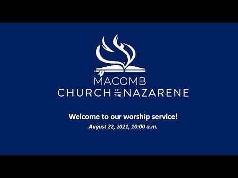 Sunday Morning Worship - August 22, 2021