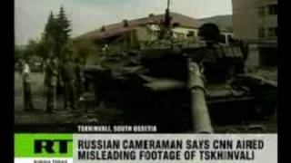 CNN blamed for using misleading war video
