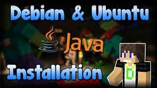 Java 8 auf Linux installieren | Debian & Ubuntu [DEUTSCH | FULL HD]