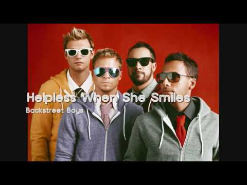 Backstreet Boys - Helpless When She Smiles (HQ)
