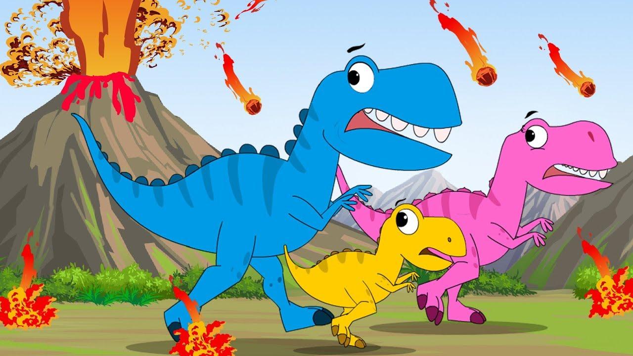 Baby T. Rex Song + Baby Shark Doo Doo + FunForKidsTV Songs Compilation