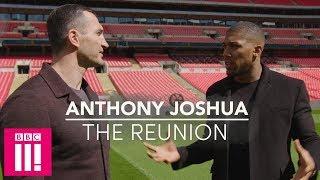 Anthony Joshua & Wladimir Klitschko Reunite 1 Year After The Big Fight