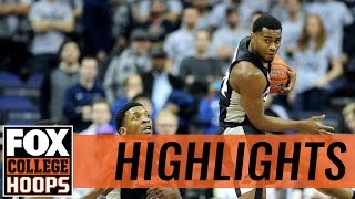 Providence Friars defeat Georgetown Hoyas in D.C. | 2017 COLLEGE BASKETBALL HIGHLIGHTS