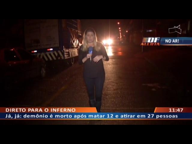 DF ALERTA - Menor é assassinado e amigo de 21 anos baleado na perna