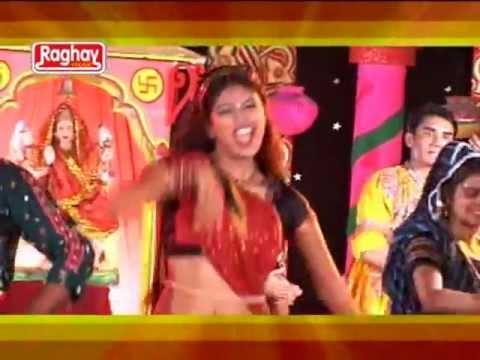 Lili lambadi re-Gujrati Latest Garba Special Dance Video Bhakti Song Of 2012 By Kavita Das