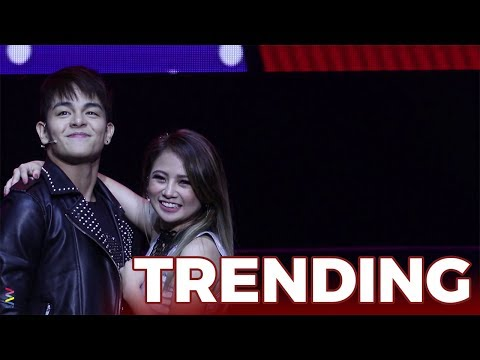 [KILIG OVERLOAD!] Ella Cruz and Julian Trono's titigan and buhat while dancing!
