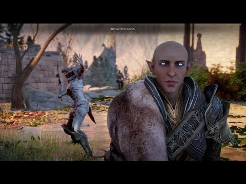 Dragon Age: Inquisition - Trespasser DLC - Confrontation With Solas - PC 1080p