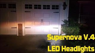 homepage tile video photo for Supernova V.4 LED Headlights Review - 2011 Nissan Altima