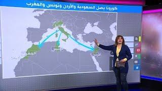 فيروس كورونا يصل المغرب وتونس والأردن والسعودية، فما هو مصدر العدوى؟