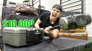 $10,000 OF LOST AIRPORT LUGGAGE!! (Buying $10,000 Lost Luggage Mystery Auction)