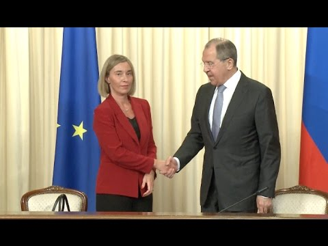 Russia Foreign Minister, EU Foreign Policy Chief Discuss Bilateral Relations