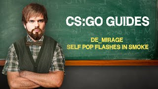 "CS:GO Guide by ceh9:""Self Pop flashes in smoke"" (ENG SUBS)"