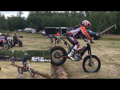 Ryan Young Trials School Red Deer AB 2017