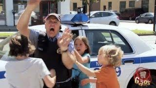 Policier battu pas les enfants- JPR