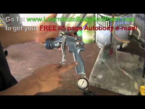 HD: How To Adjust Your Spray Gun - Auto Spray Gun Setup Tips!