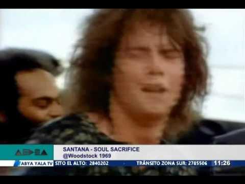 Aedea - Santana - Soul Sacrifice 1969 'Woodstock' Live Video HQ
