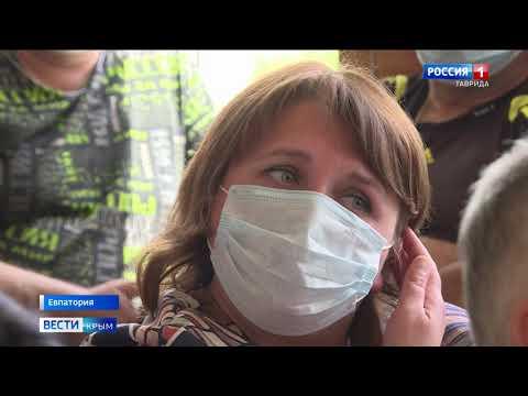 В Евпатории медики жалуются на плохое качество и нехватку средств защиты от коронавируса