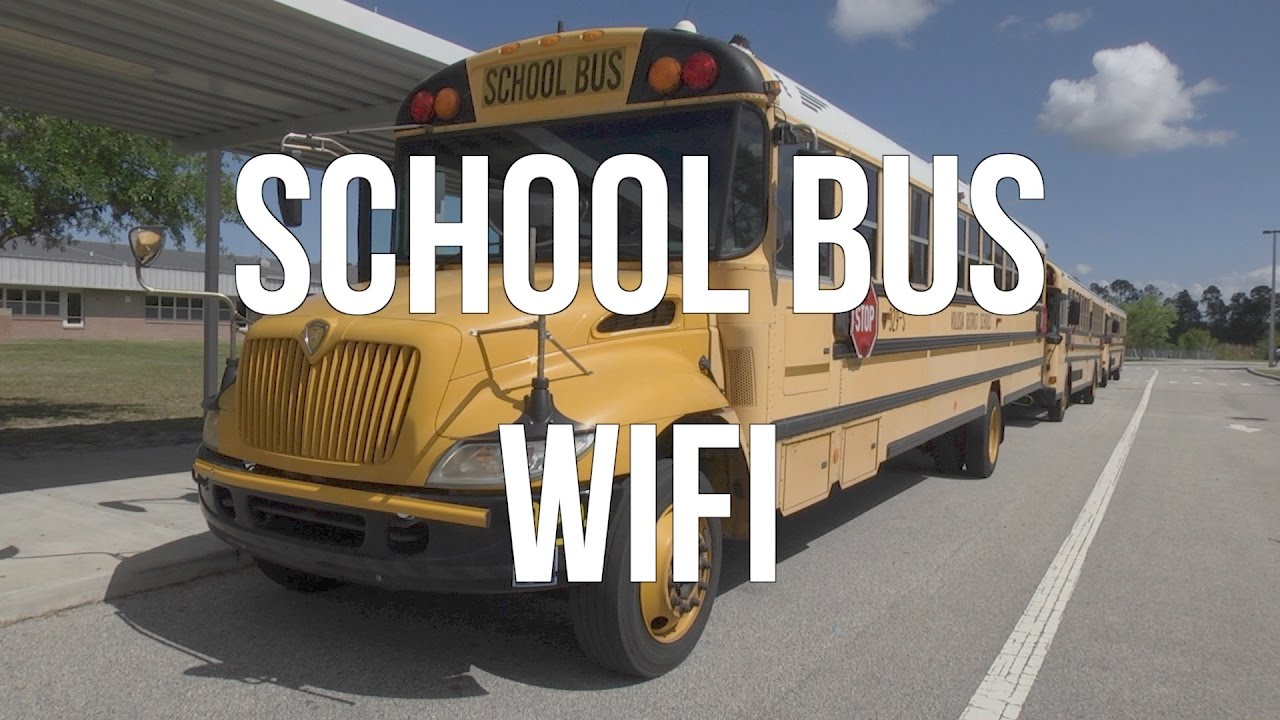 volusia county schools  school bus wifi