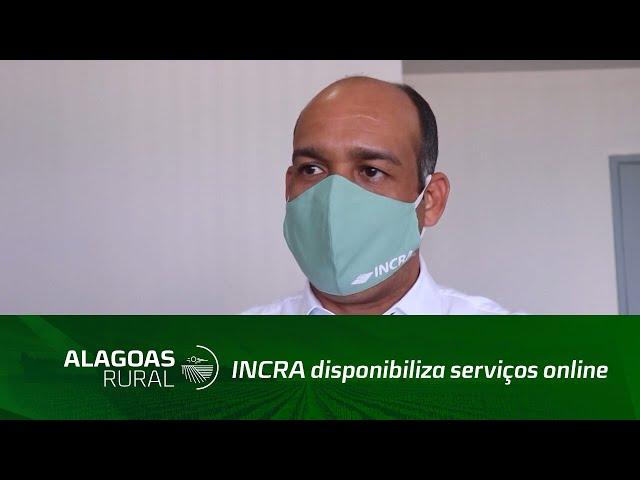 INCRA disponibiliza serviços online