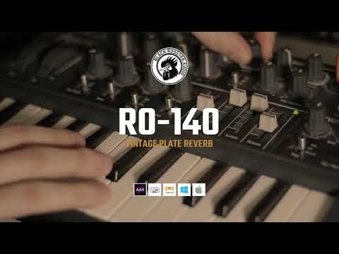 Black Rooster Audio | RO-140 Vintage Plate Reverb on Synth