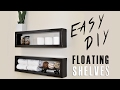 $7 DIY Floating Shelf