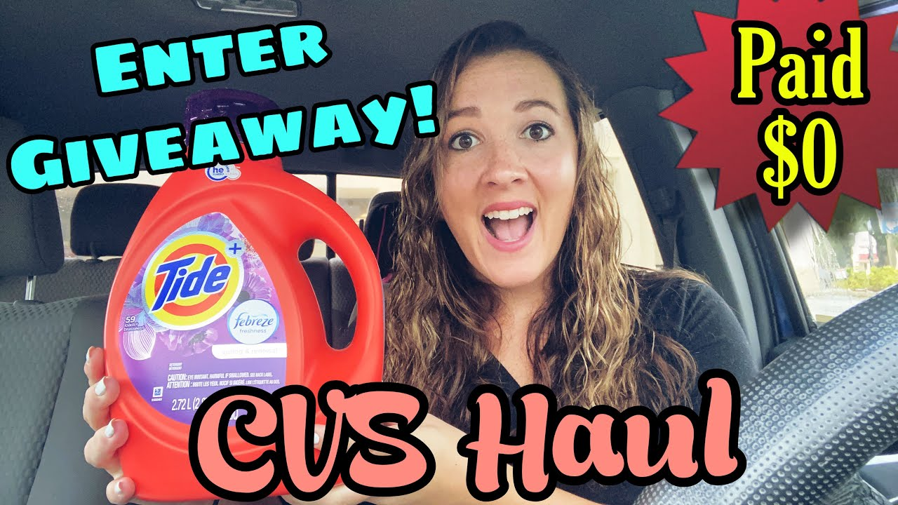 CVS Haul 9/20-26/2020 I ENTER GIVEAWAY! I Get $85 of Products and Pay $0 OOP!
