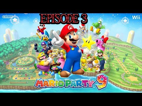 Games With Family (Mario Party) 9 Boos Horror Haunt {Again} Episode 1