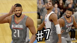 NBA Live 18 The One Career Mode - Number 1 Draft Pick Here We Come! The NBA Draft Combine! Ep. 7