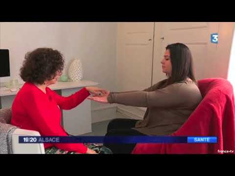 Reportage mois sans tabac et hypnose sur France 3 - Karine Goldschmidt