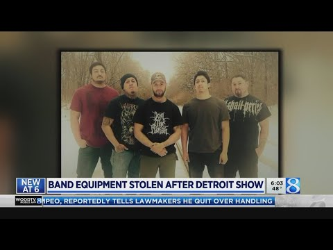 WOOD Radio Local News - Holland band loses 'everything' when trailer stolen