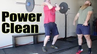 Alan Thrall Teaches The Power Clean