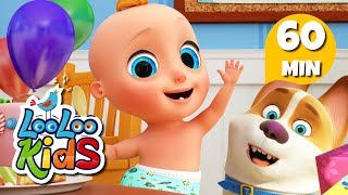 Happy Birthday 🎉 Birthday Song for Children | LooLoo Kids