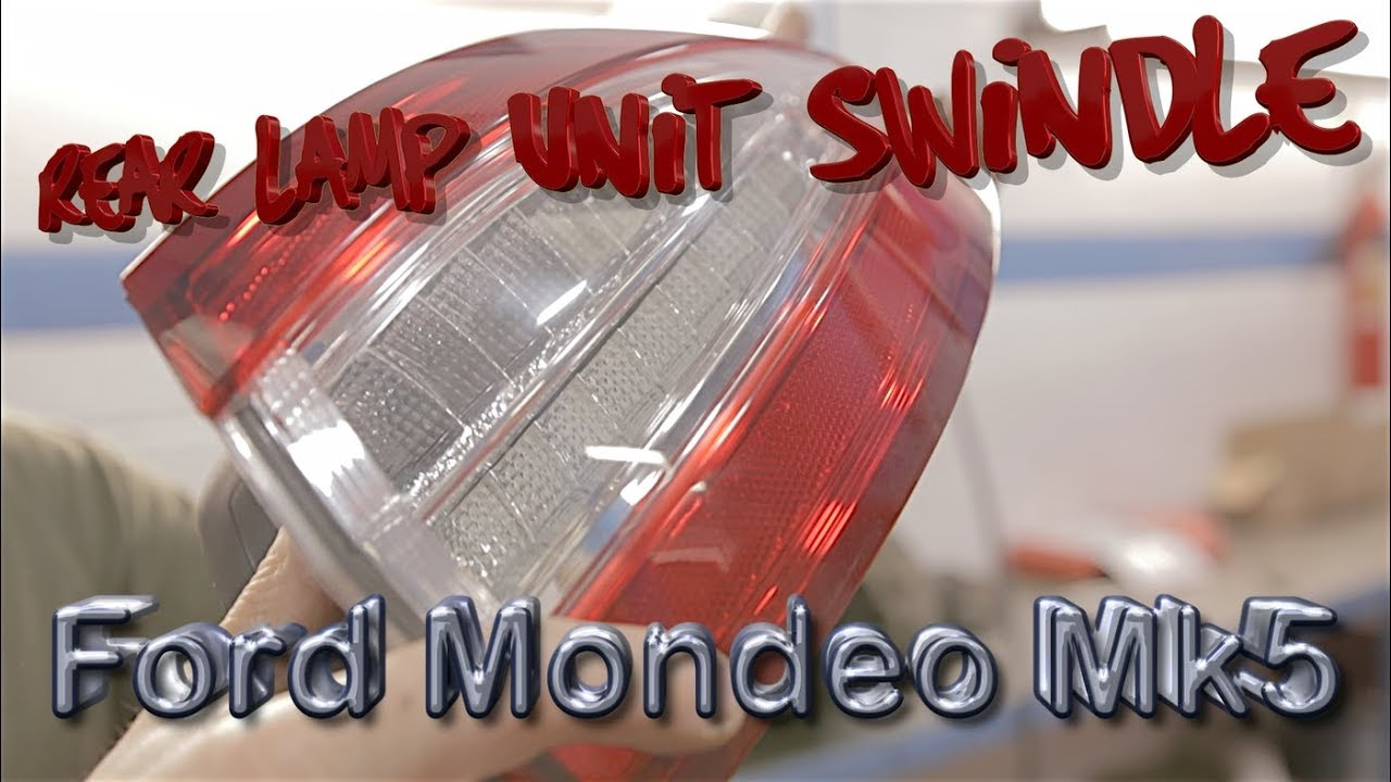 Ford Mondeo MK4 2007-On Right O//S Side Front Fog Lamp Fog Light