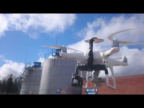 Топографическая аэрофотосъемка с квадрокоптера. Геодезический приёмник на борту Phantom 4. Часть 2.