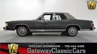 1987 Mercury Grand Marquis GS Gateway Classic Cars Chicago #689
