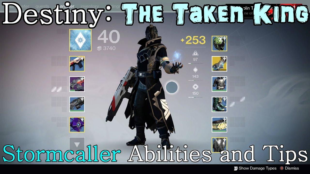 Destiny Stormcaller Build
