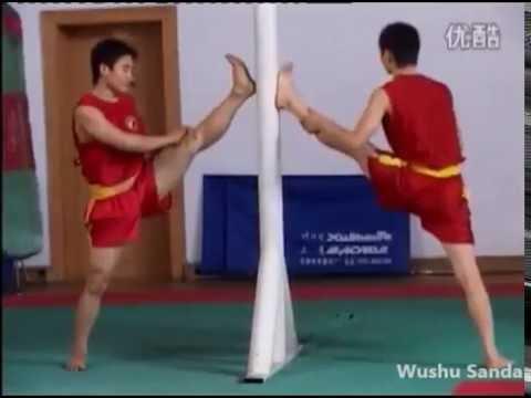 Тренировка ушу саньда