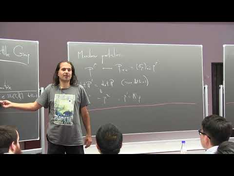 Nima Arkani Hamed (IAS): Collider Physics from the Bottom Up - Lecture 2
