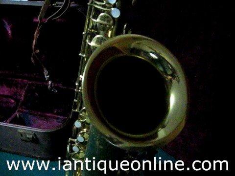 Online Appraisals Musical Instruments Pan American Conn Saxophone Sax