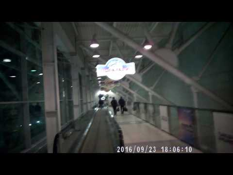Tolmachevo Airport (OVB) Air Side Novosibirsk Siberia—From Security to SkyTeam Lounge
