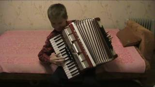 К.Черни Этюд аккордеон 4 класс музкальной школы