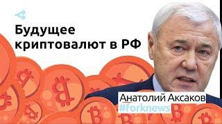 Анатолий Аксаков: государство не готово к внедрению национальной криптовалюты