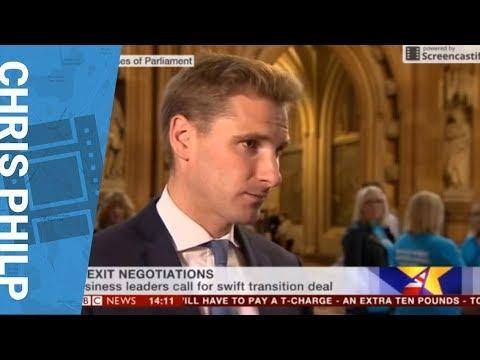 Chris Philp - BBC News - Moving Brexit Negotiations Forward